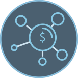 icon,circle,money,expansion,network